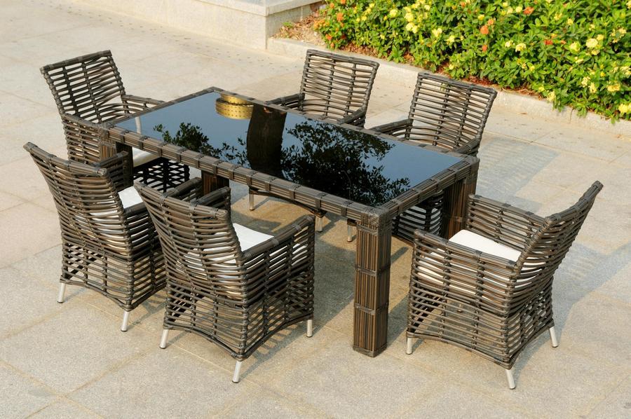 Sedie E Tavoli Da Giardino In Vimini.Dal Pozzo Argenta Rattan Vimini Midollino Bambu Arredamento Per